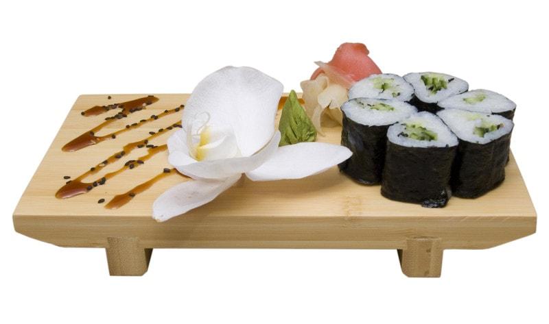 Fotografia produktowa Rzeszów sushi krewetki