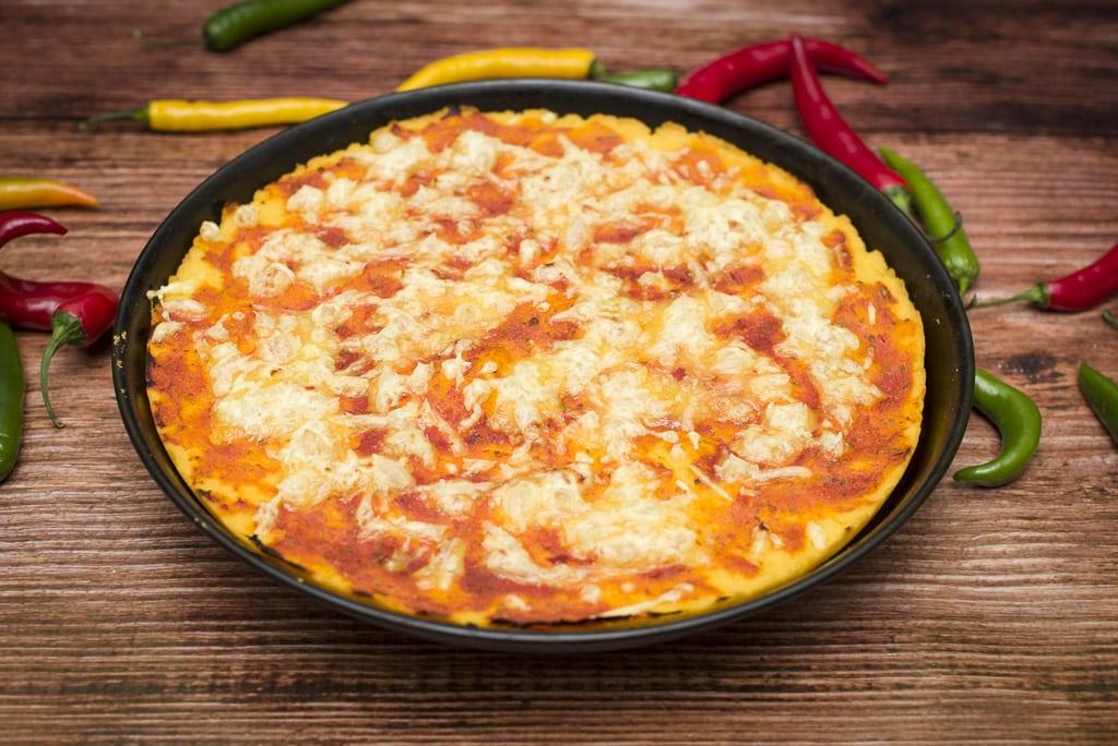 fotografia żywności Rzeszów - pizza bezglutenowa