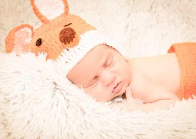 Wojtuś - fotografia noworodkowa Rzeszów