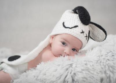 Malutki Natan fotografia noworodkowa Rzeszów