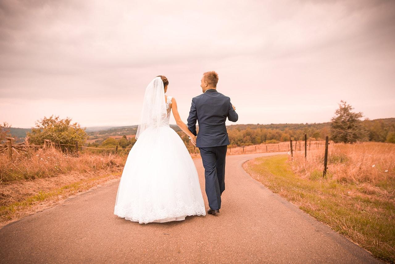plenerowe zdjęcia ślubne Rzeszów - fot Hulinka